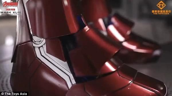 钢铁侠官方1:1战衣开卖:250万一套、能变形的照片 - 4