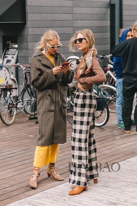 2019春夏纽约时装周秀场外街拍