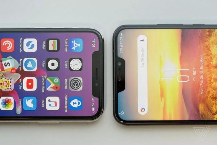 """iPhone X""""刘海屏""""遭众人嫌弃?为何厂商们竞相效仿的照片 - 4"""