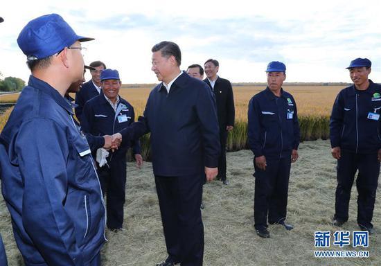 (時政)(2)習近平在東北三省考察并主持召開深入推進東北振興座談會