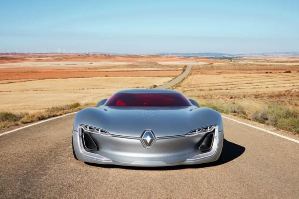 雷诺发布Trezor概念电动超跑:使用蛤壳式车门的照片 - 52