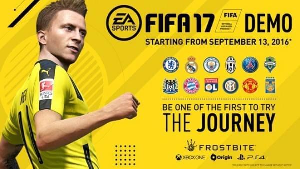 """带""""The Journey""""故事模式的FIFA 17试玩版即将上线的照片 - 2"""