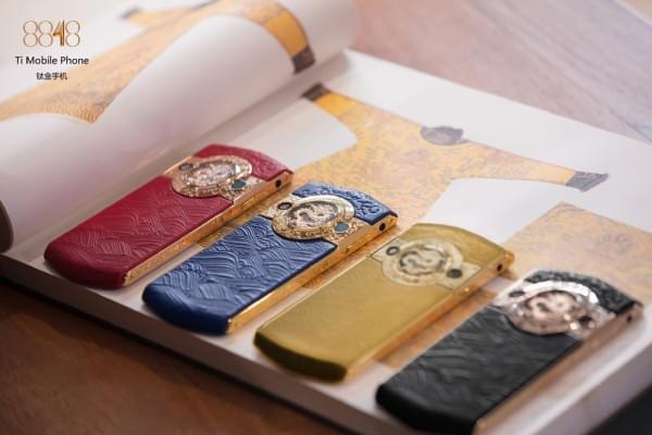 故宫推出贺岁版皇家奢华手机:售价19999元的照片 - 2