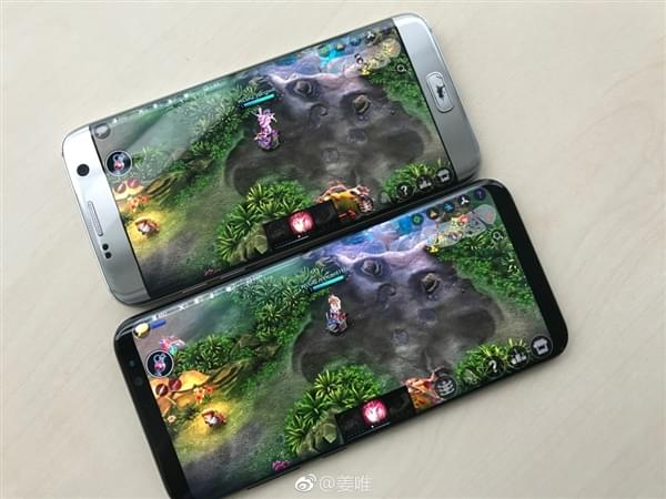 Galaxy S8玩《王者荣耀》类游戏:视野可以说是作弊