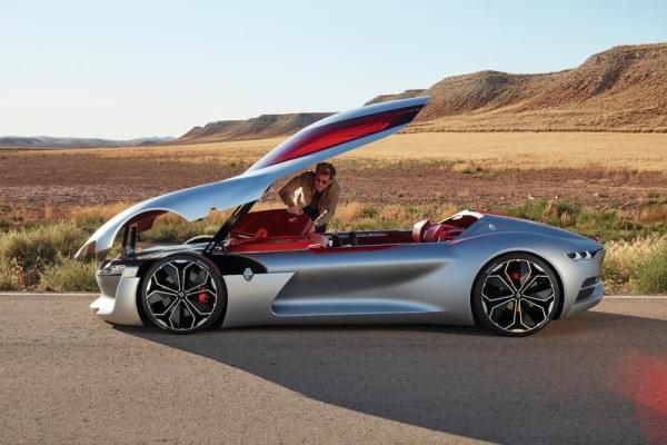 雷诺发布Trezor概念电动超跑:使用蛤壳式车门的照片 - 44