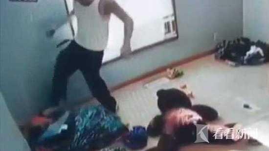 美国男子当众脱6岁儿裤子猛打屁股 涉虐童被捕(图)