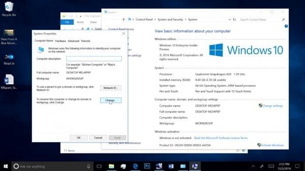 看高通骁龙处理器运行Windows 10桌面版Photoshop的照片 - 2