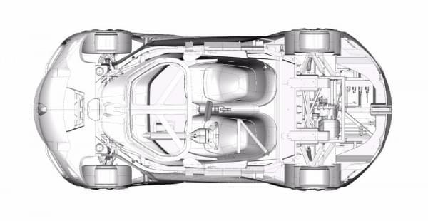 雷诺发布Trezor概念电动超跑:使用蛤壳式车门的照片 - 23