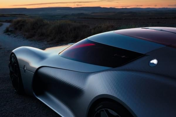 雷诺发布Trezor概念电动超跑:使用蛤壳式车门的照片 - 40