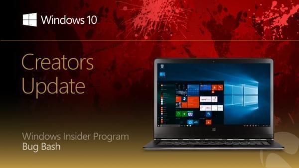 微软启动Creators Update的Bug Bash活动的照片