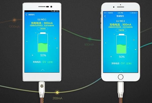 鲁大师发布鲁蛋数据线:真正实现Android/苹果二合一的照片 - 3