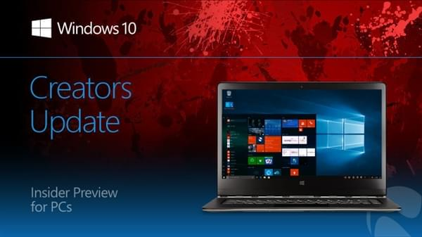 Slow通道获得Windows 10 Build 15063版本更新的照片