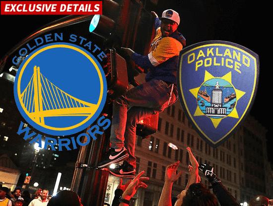 勇士球迷慶奪冠爆發騷亂 警方:有人襲警有人開槍