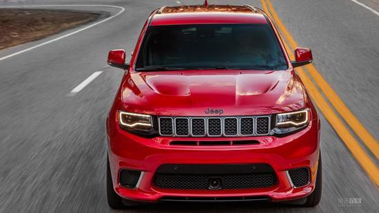 Jeep最快SUV 新款大切诺基trackhawk官图