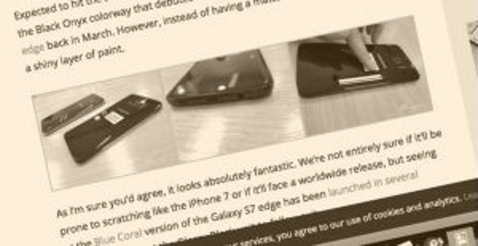改变外观 三星欲借Galaxy S7 Edge扭转局面的照片 - 2