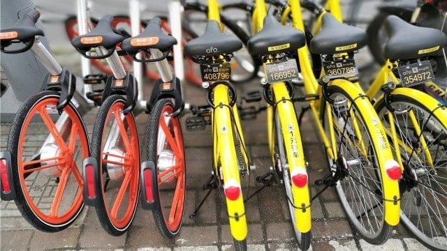中国共享单车兴起,为何传统自行车厂却不太高兴的照片