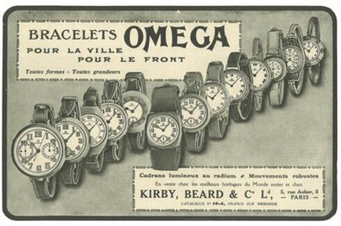 歐米茄 (OMEGA) 腕表——從戰壕到敦刻爾克