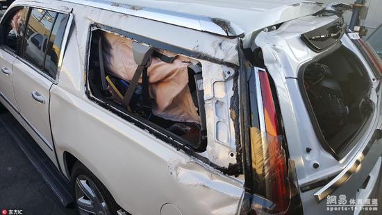 開巴恩斯的車搭巴恩斯前妻 老魚還酒駕把車撞毀…
