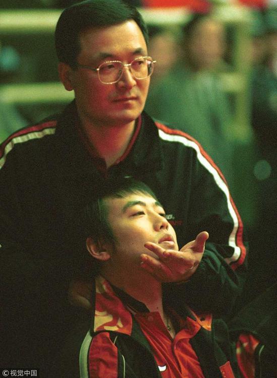 1999年的刘国梁。
