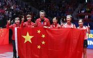 中国女队世乒赛击败日本队
