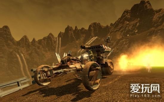 游戏提供丰富的载具和武器