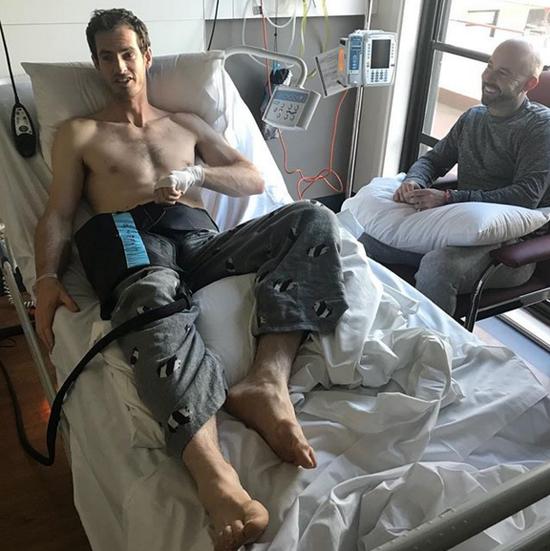 穆雷澳洲进行髋关节手术 目标温网回归再创佳绩
